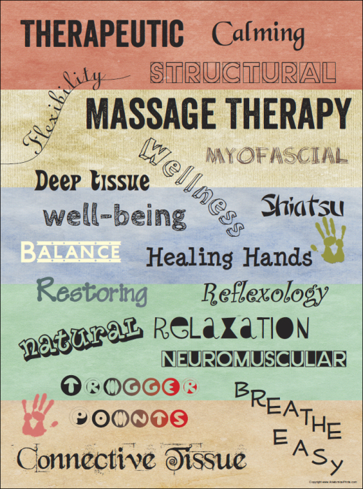 Massage Words